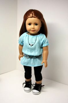 American Girl Doll ClothesTunic Leggings by sewurbandesigns, $23.00