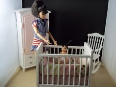 How to Make Barbie Furniture | To see sales information click to go to http://www.vansdolltreasures ...