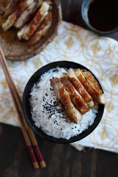Chicken Teriyaki - a staple in our home. Simple and delicious. Click for my recipe!