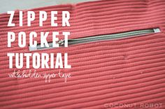 Zipper Pocket Tutori