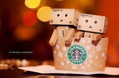 In Starbucks