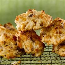 Bacon Cheddar Drop Biscuits Recipe... Ready to compliment any meal in ...