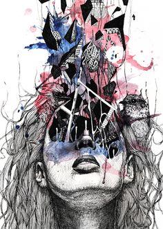 #skull #art #painting #illustration #anatomy #skeleton