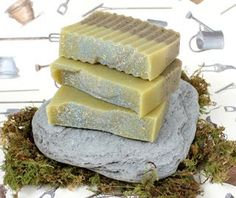 soaps, homemad bath, homemad soap, soap recipes, diy gift, garden soap, gardening, homemade bath products, cold process soap