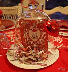Valentine cloche