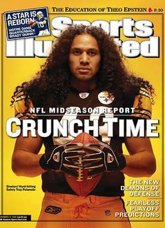 troypolamalu, crunch, sport, pittsburgh steelers, steeler nation