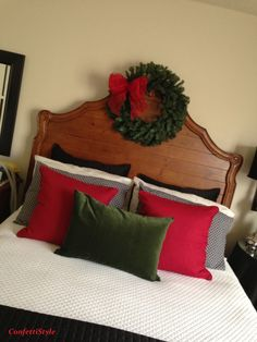 Christmas in the bedroom!