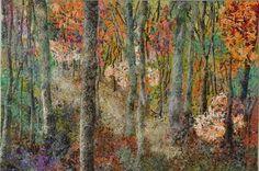 "Noriko Endo ""Autumn Splendor"" artgallerynyc"