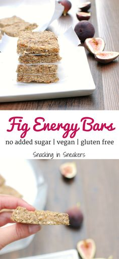 These fig energy bar