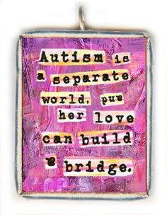 ♥ When I was in High School I volunteered with the special needs kids at the middle school. I worked with Autistic children, children with Down Syndrome, and even a little boy with Fetal Alcohol Syndrome. They are such incredible children and I still love and remember them all <3