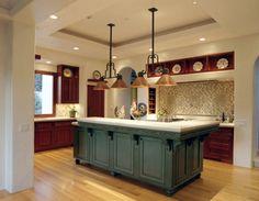 Very Large Kitchen Islands   Small Change – Big Impact! Kitchen Island Paint…