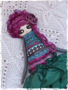 Fiona Fabric Doll Soft Doll OOAK Art Doll Gift  Cloth by LARION, Ft12000.00