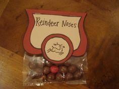 Reindeer Noses Christmas Gifts DIY