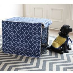 Trellis Pet Crate Cover    Ballard Designs