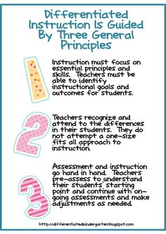 Guidelines for Differentiating and the Common Core Along with A Freebie