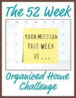 The 52 Week Organized Home Challenge - very impressive site