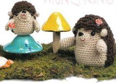 Hedgehogs - amigurumi