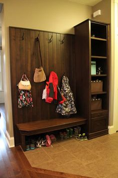 Mudroom Bench Design Ideas, Pictures, Remodel, and Decor - page 5