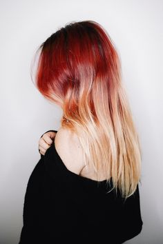 Aveda partner Luanna changed up her signature color with the help of Eclipting Color and Fourteenjay salon,