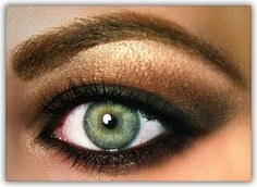Best Combinations for Green Eyes: Plum, Violets, Purples, Pinks, Gold's, Bronze, Copper, Light Beige Shades to Chocolate Brown, Grey, Silver