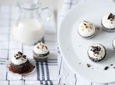 Hazelnut Chocolate Mini-Cupcakes | 19 Tiny Desserts You Can Eat In One Bite