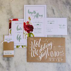 beautiful envelope calligraphy, photo by GK Photography http://ruffledblog.com/notwedding-new-orleans #weddinginvitations #stationery