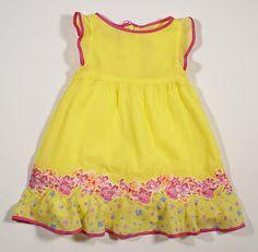Versace baby Spring 2012 babi spring, color combos, bottom ruffl, babi dress, flower dresses, child dress, appliques, babi wear, bright colors