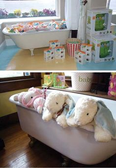 gift shop, shop displays, clawfoot tubs, bathtub, shop magazin