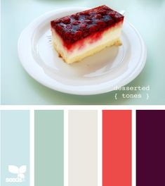desserted tones - It seems like a beach-style color scheme to me.