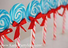 lollipop love Dr. #Seuss party food