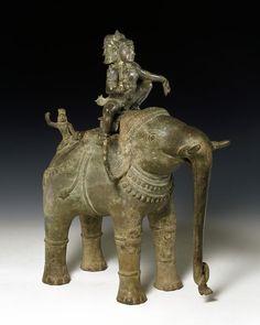 Sculpture. Madras, India. 12th century. Copper alloy. © Victoria and Albert Museum, London
