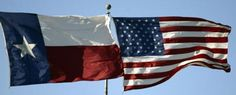 Texas is the only state that can fly its flag even with the American flag. Why? Because it was once it's own country.