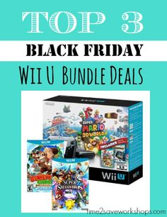 Wii U bundle deals s