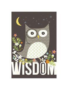 'Wisdom', on Minted.com