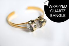 DIY Free People Wrapped Quartz Bangle