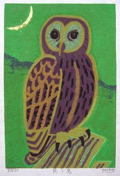 owl by Fukami Gasyu