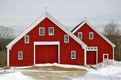 Shaker Village in Maine
