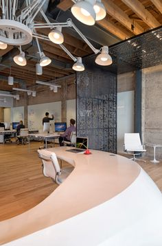 Giant Pixel Office by Studio O+A