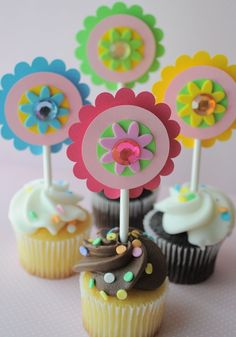 cupcake toppers kids party