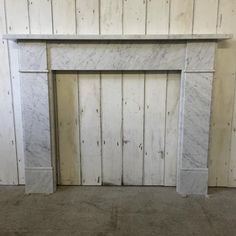 Reclaimed Marble Fireplace Surround - V&V Reclamation