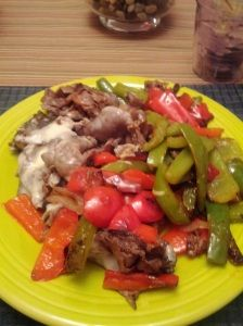 Breadless Cheesesteak Sandwiches with Peppers! #PaleoFriendly #Fast #Awesome