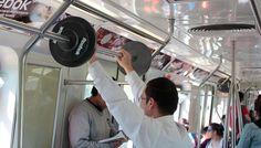Malhando no Metrô com Reebok