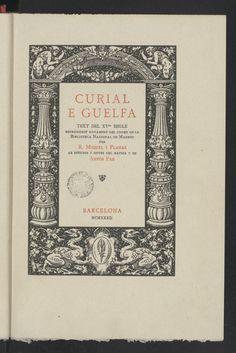 "Courtesy of the Biblioteca de Catalunya (http://www.bnc.cat): ""Curial e Güelfa"". (Public Domain) http://www.europeana.eu/portal/record/91912/CC0B65D052D9F171BEA74F1F5317FC34F4C826D9.html #worldbookday #oldbooks #books #bookcovers #beautifulbookcovers #readbooks"