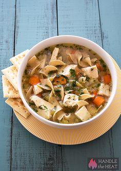 Slow Cooker Chicken Noodle Soup chicken noodle soups, comfort foods, noodl soup