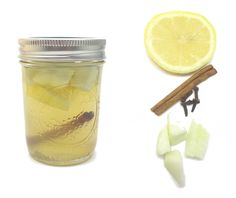 Still with the mason jar/food idea. Just a drink. Tagged to remember the recipe.