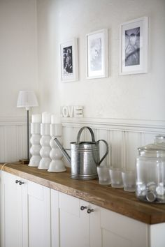 Ikea-kitchen-cabinet-credenza hack - use in dining room