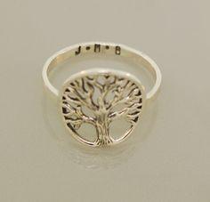 Custom Family Tree Ring by TeriLeeJewelry on Etsy, $75.00