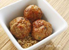 Asian Turkey Meatbal
