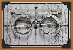 Antique Trial Lens Frames