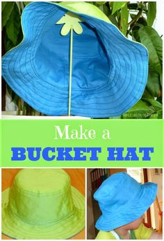 Tutorial - How to make a cute bucket hat!